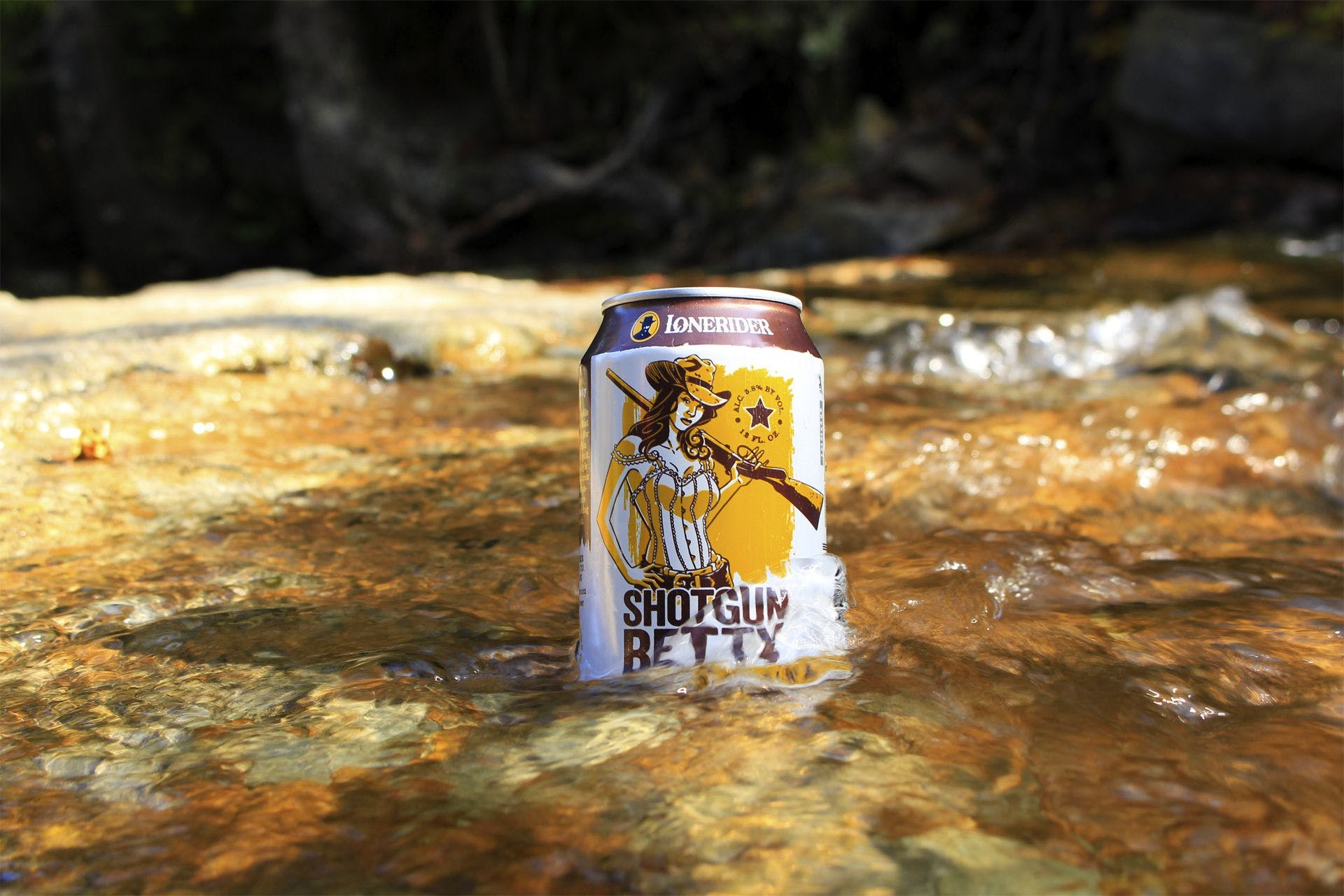 Lonerider Brewing Company - Shotgun Betty Hefeweizen