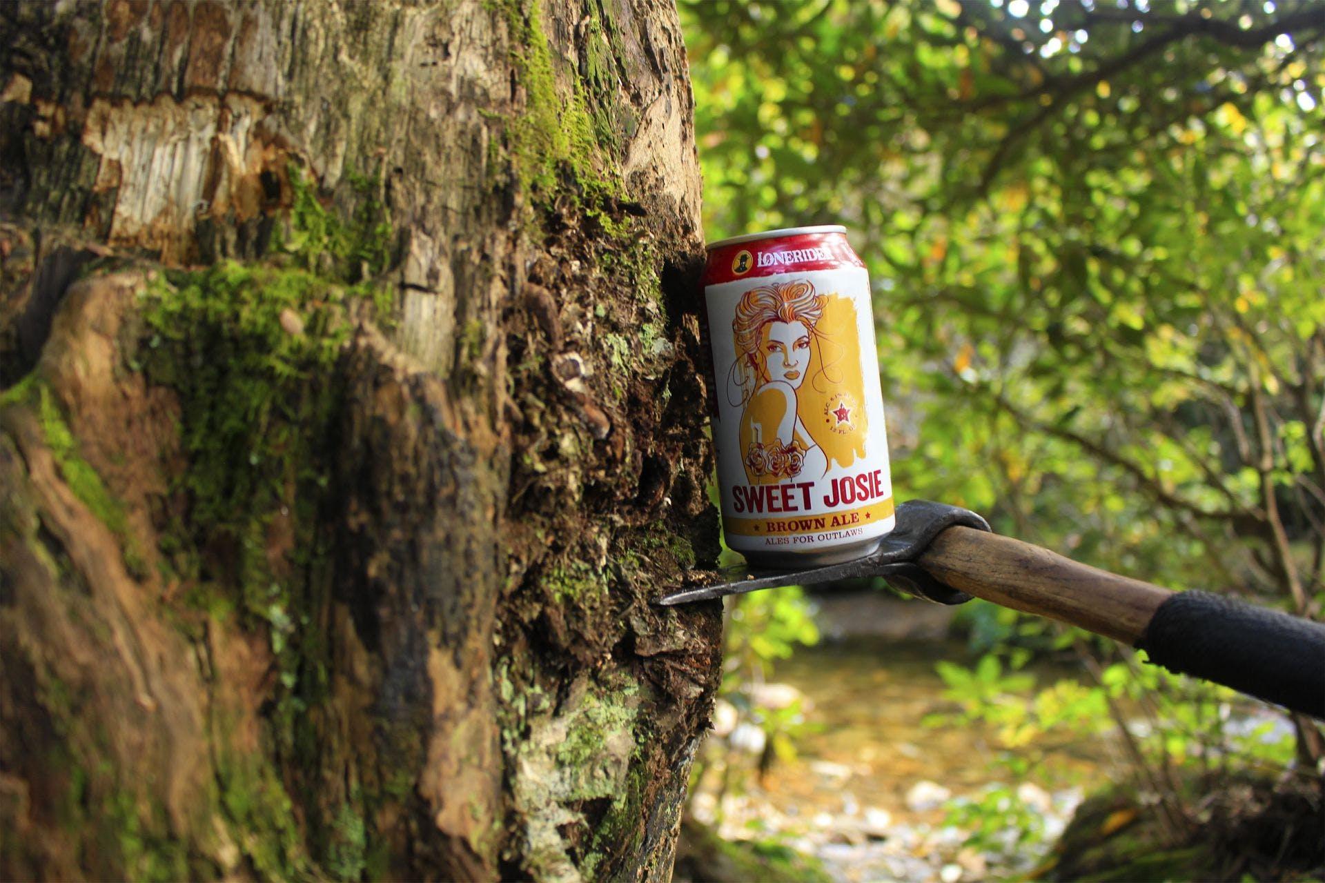 Lonerider Brewing Company - Sweet Josie Brown Ale